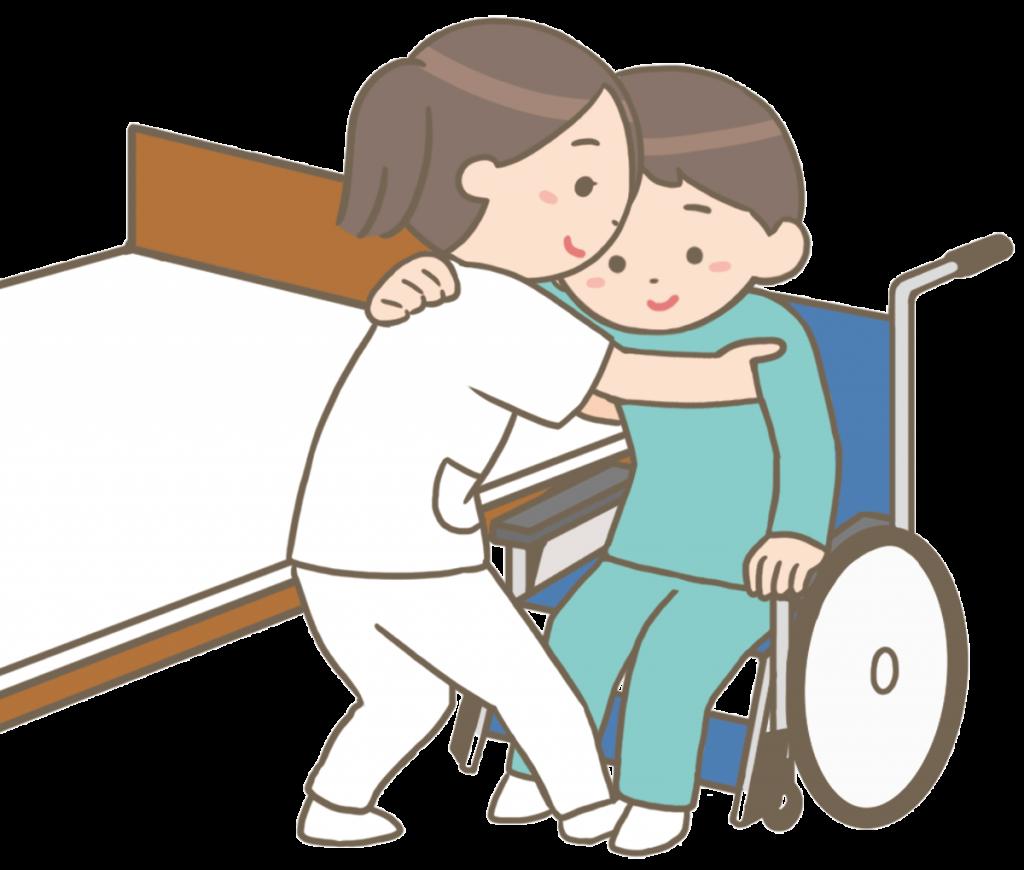 重度障害者自立支援施設にて