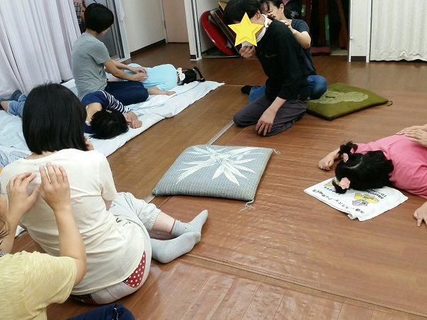重度障害者自立支援施設様でタッピングタッチ開催