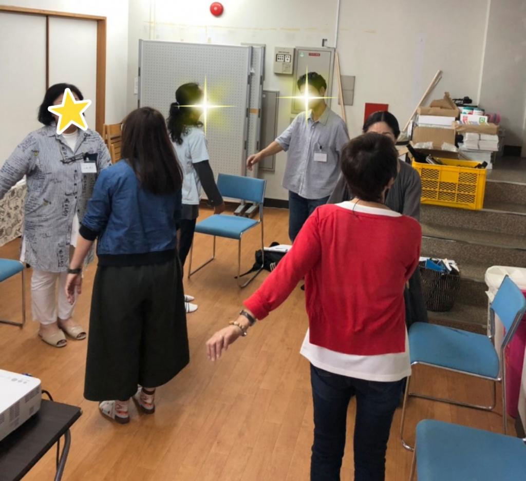 桜坂市民大学にてタッピングタッチ